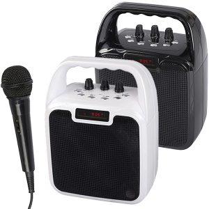 רמקול קריוקי Bluetooth כולל מיקרופון מבית Charge-it