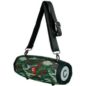 """""""דראם"""" – רמקול Bluetooth מנומר מט מבית Charge-it"""
