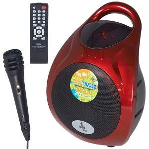 CoolSound – ערכת קריוקי Bluetooth עוצמתית כולל מיקרופון