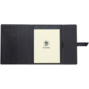 מכתבית כריכת PU דמוי עור A4 סגירה רצועה מבית המותג GIVONY
