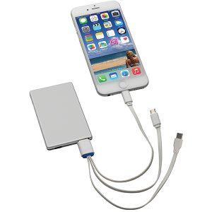 """""""כרטיס אשראי""""- Power bank סוללת גיבוי אלומיניום דק במיוחד"""