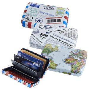 נרתיק לכרטיסי אשראי בעיצובים שונים