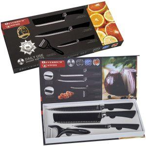 סט 4 סכינים יוקרתי תוצרת Everrich
