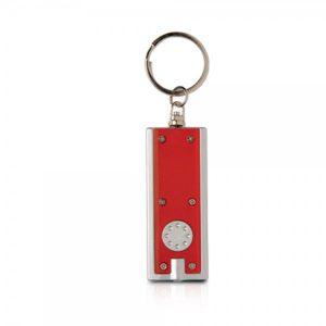 """""""ריינבו"""" – מחזיק מפתחות עם פנס לד"""