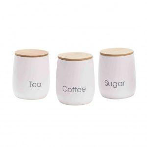 """""""קוקיז"""" – סט 3 חלקים לאחסון סוכר קפה תה"""