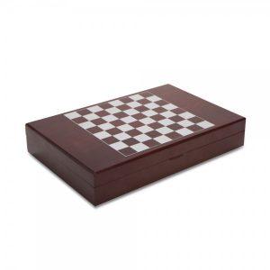 """""""שחמט"""" – מארז אביזרי יין לוח שחמט"""