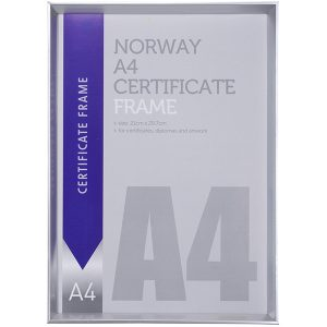 מסגרת A4 לתעודה