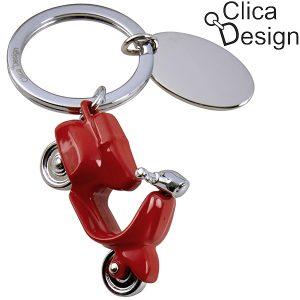מחזיק מפתחות מתכת ווספה מבית Clica Design